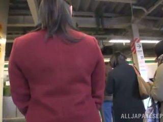Asian Doll Appreciates Dicklicking And Shagging In A Public Bus