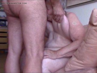 Lange Oma-euter: Free Granny Porn Video 7b