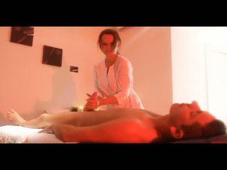 french, brunettes, massage