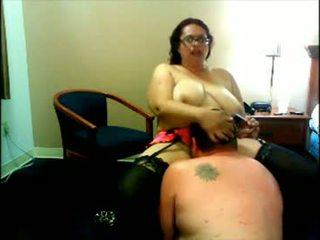 Потворна товста блудниця вебкамера