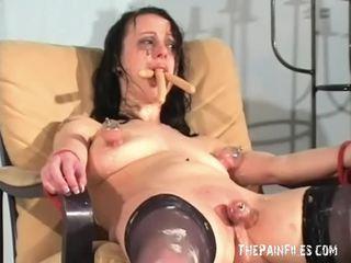 Bizarre female humiliation and messy degradation
