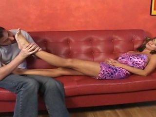 Mackenzie montgomery (candice michelle) - karstās pēda fetišs