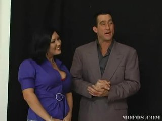 Claire Dames fucking on TV show