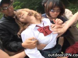 Akane hotaru hawt ázijské modelka receives