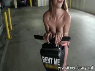 Bikini girlfriend tries to fucked thic...