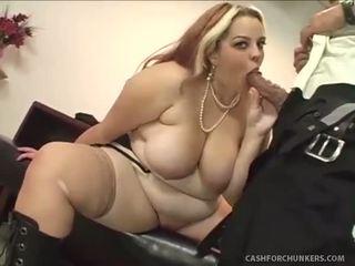 Hefty Slut Sexercises With President