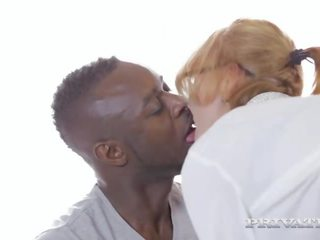 Busty Milf Iskra Has Her First Interracial.