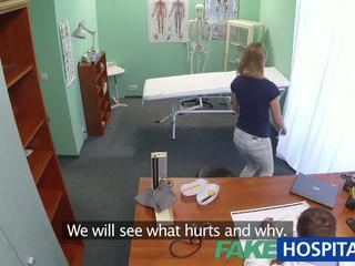 Fakehospital innocent blondinka gets the doctors