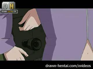 Naruto 色情 - karin comes, sasuke cums