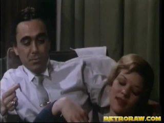 젖가슴 부분에 섹스, 부엌 누드, 빈티지 포르노