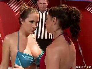 lezbiyen, lezbiyen kavga, porno