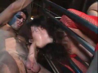 Titan tate gianna michaels gets fierbinte prick în între lor înainte getting pumped