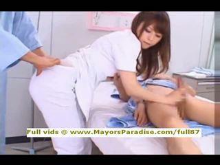 Akiho yoshizawa od idol69 nezbedný asijské zdravotní sestra likes na dělat výstřik