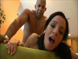brunete, pussyfucking, blowjob