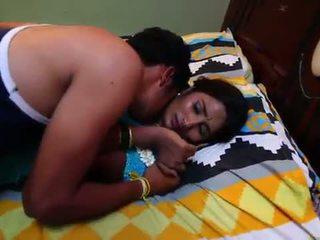 هندي ربة البيت قصة حب مع newly متزوج bachelor - midnight masala أفلام -