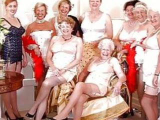 grannies, milfs, old+young
