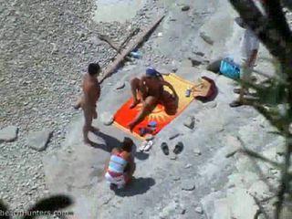 group sex, beach, teen