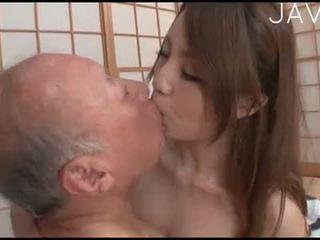 japán, cumshot, szamár