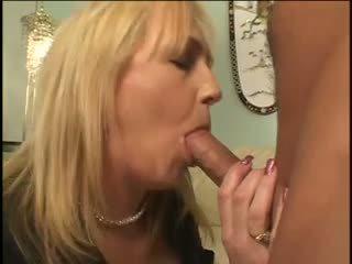 Mamma og gutt