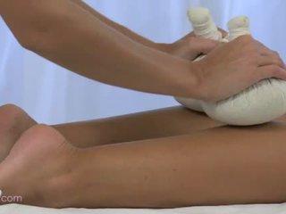 masseuse, lesbian, massage