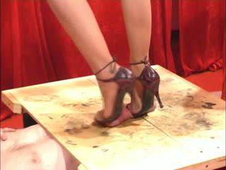 milfs, fetysz stóp, nylon