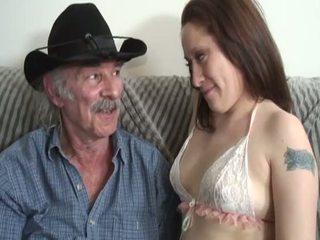 Porner premium: الهاوي جنس فيلم مع ل قديم رجل و ل شاب وقحة.