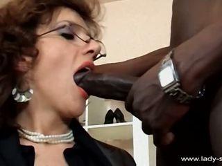 brunete, licking, bbc