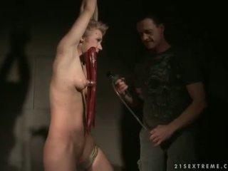 Chicky Clarissa getting bondaged and punished