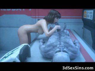 Il 3d zombie sexperiment!