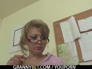 realtà, vecchio, nonna