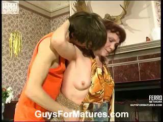 Lillian at marcus irresistible matanda babae sa loob action