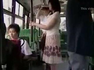 sorpresa, pubblico, autobus
