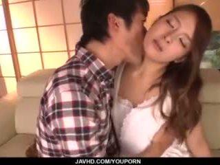 Nana ninomiya, horký manželka, amazes hubby s plný porno