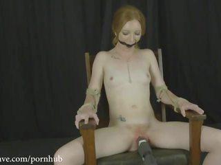 vibrator, orgasm, gagged