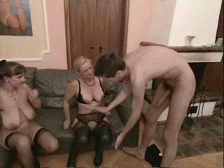 สมัครเล่น แก่แล้ว swingers เซ็กส์สามคน เพศ วีดีโอ