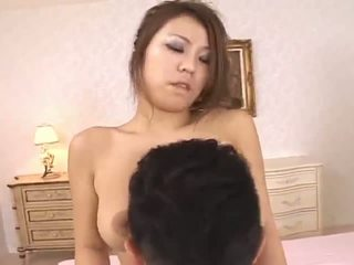 Romihi Nakamurastunning asian doll rub tits with a cock