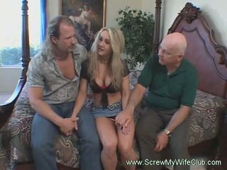 grote lul, grote borsten, 3some