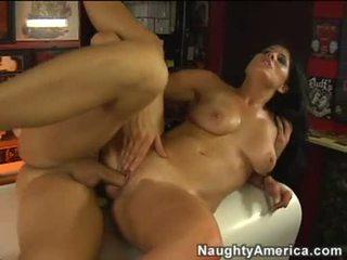 hardcore sex, cumshots, velký péro