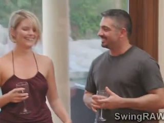 Pole dance bar turned on this party at the swingers mansion