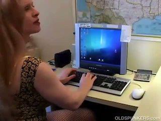 Seks in netkousen kniekousen