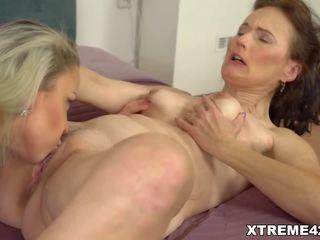 Mature Lesbian Enjoys some Pussy Licking, Porn 93