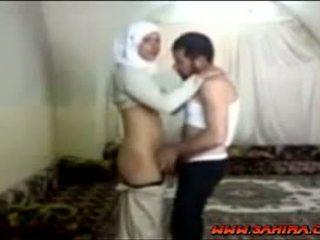 Egyptské hijab pobehlica