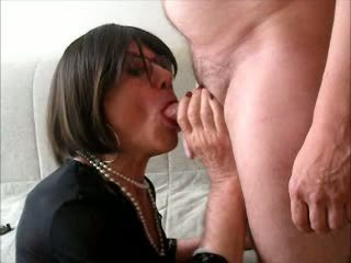 sucking, crossdresser, blowjob