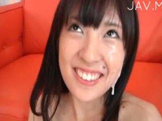 japanese, group sex, facial