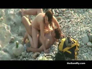 Thesandfly publisks karstās & uzbudinātas pludmale amateurs!