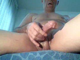 Spycam masturbates watching porno, Extrem Orgasm!