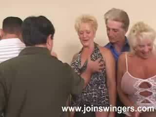 swingers, babcia, w wieku
