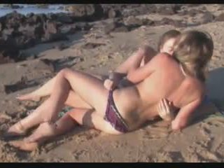 lesbians, beach, outdoor