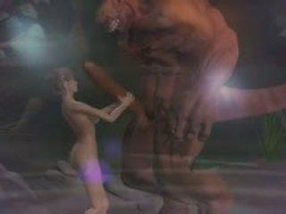 Hentai seksas 3d fantasy su demons 2