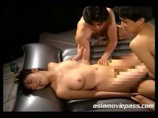japanese, vintage, threesome